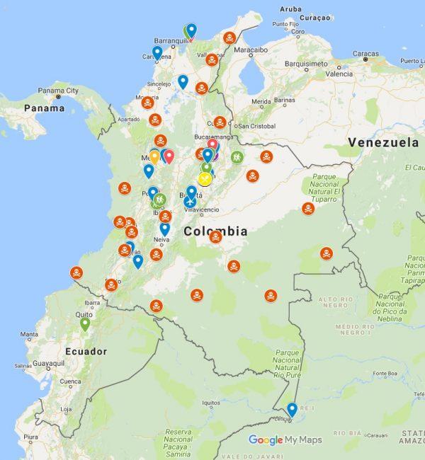 Colombia Travel Part 1 Villa De Leyva Mark And Xin